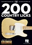 200 Country Licks: Guitar Licks Goldmine