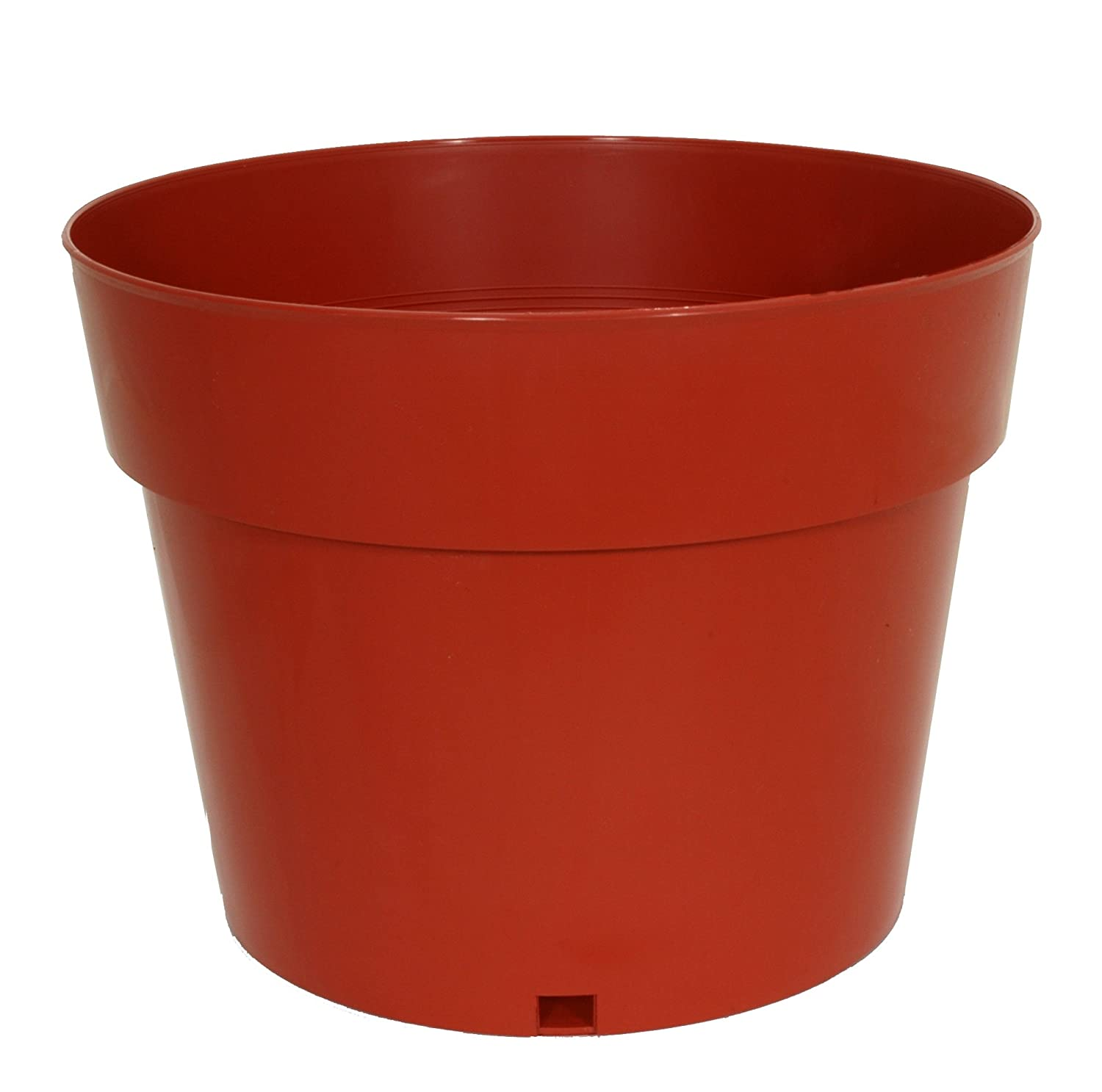Akro Mils STR04000E24 4-Inch Grower Pot, Terra Cotta