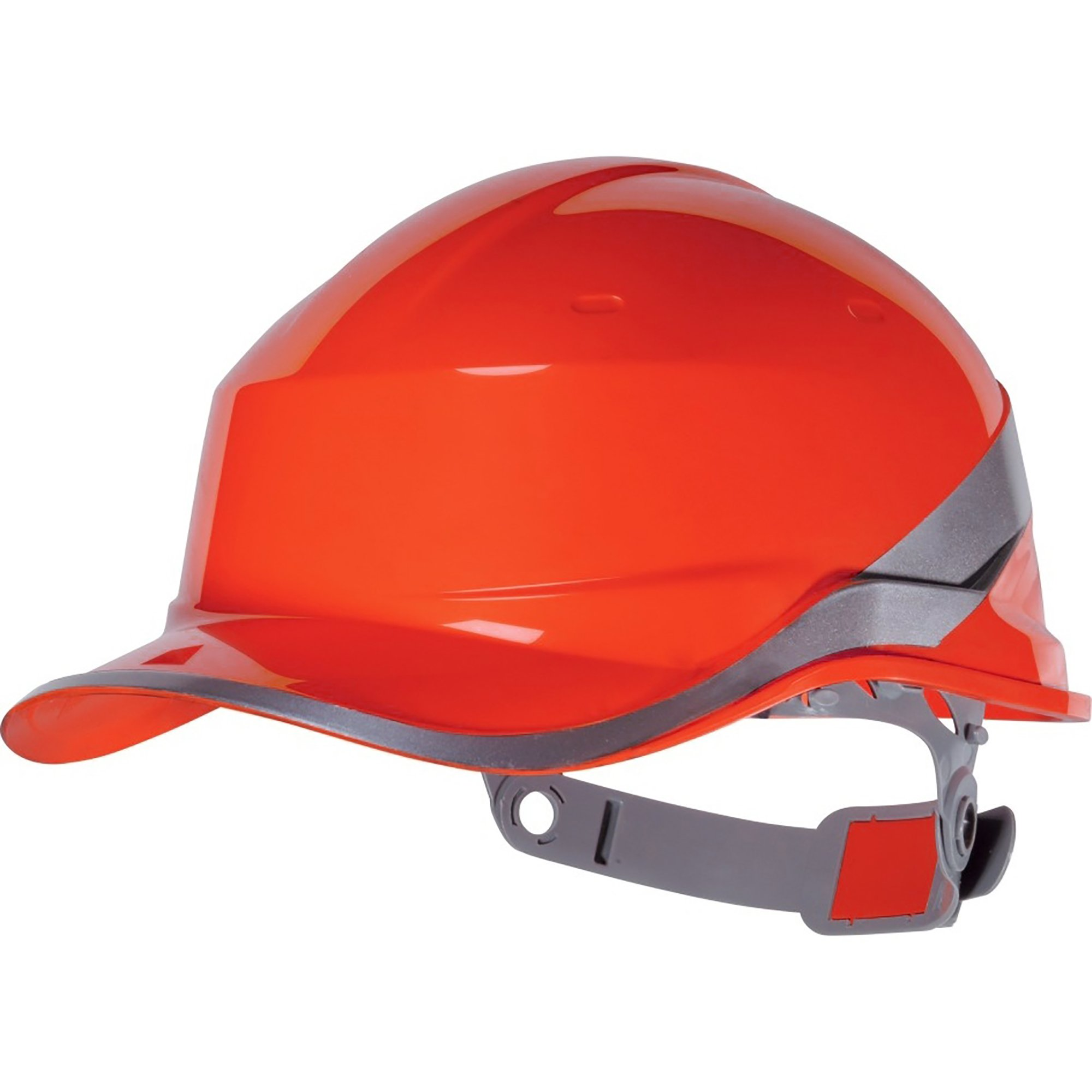 Venitex Hi-Vis Baseball PPE Safety Helmet (One Size) (Red)