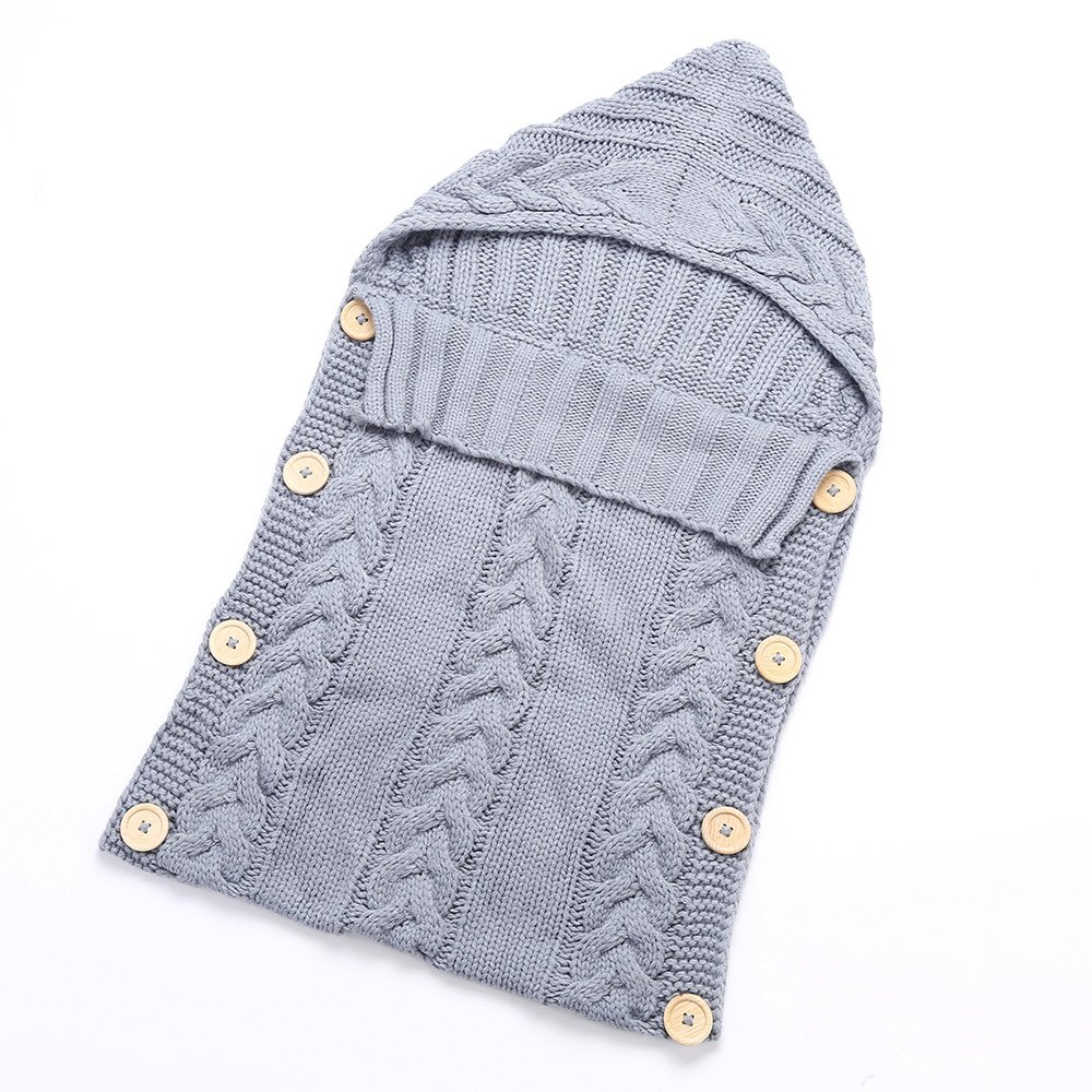 Saco de dormir Anself para bebé gris Gris: Amazon.es: Hogar