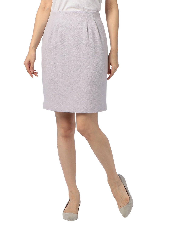 (ノーリーズ) NOLLEY'S アンゴラ混メロンタイトスカート 7-0035-6-06-014 B078BC7DT6 38|ラベンダー ラベンダー 38