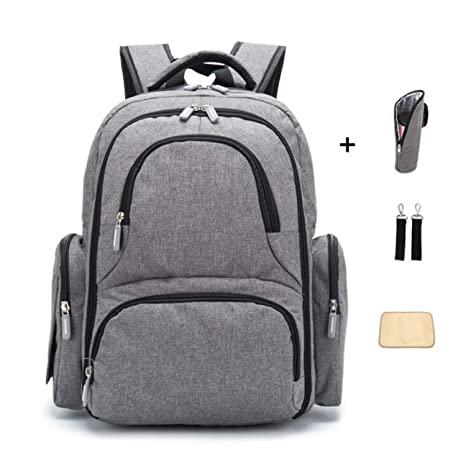 Amazon.com: Diaper Backpack Bag with Wide Open Design ...