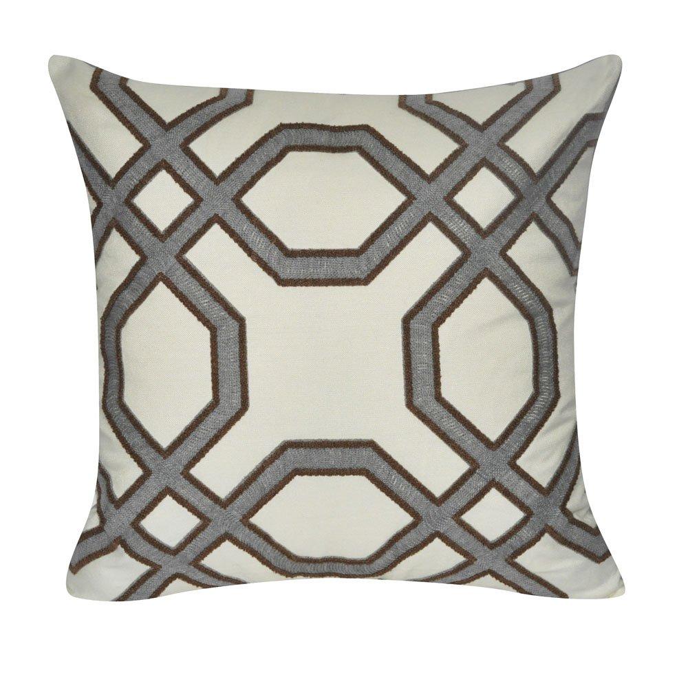 ルームとミルボヘミアン幾何センター円布張りデザイン装飾Plushとふわふわアクセント装飾枕、20