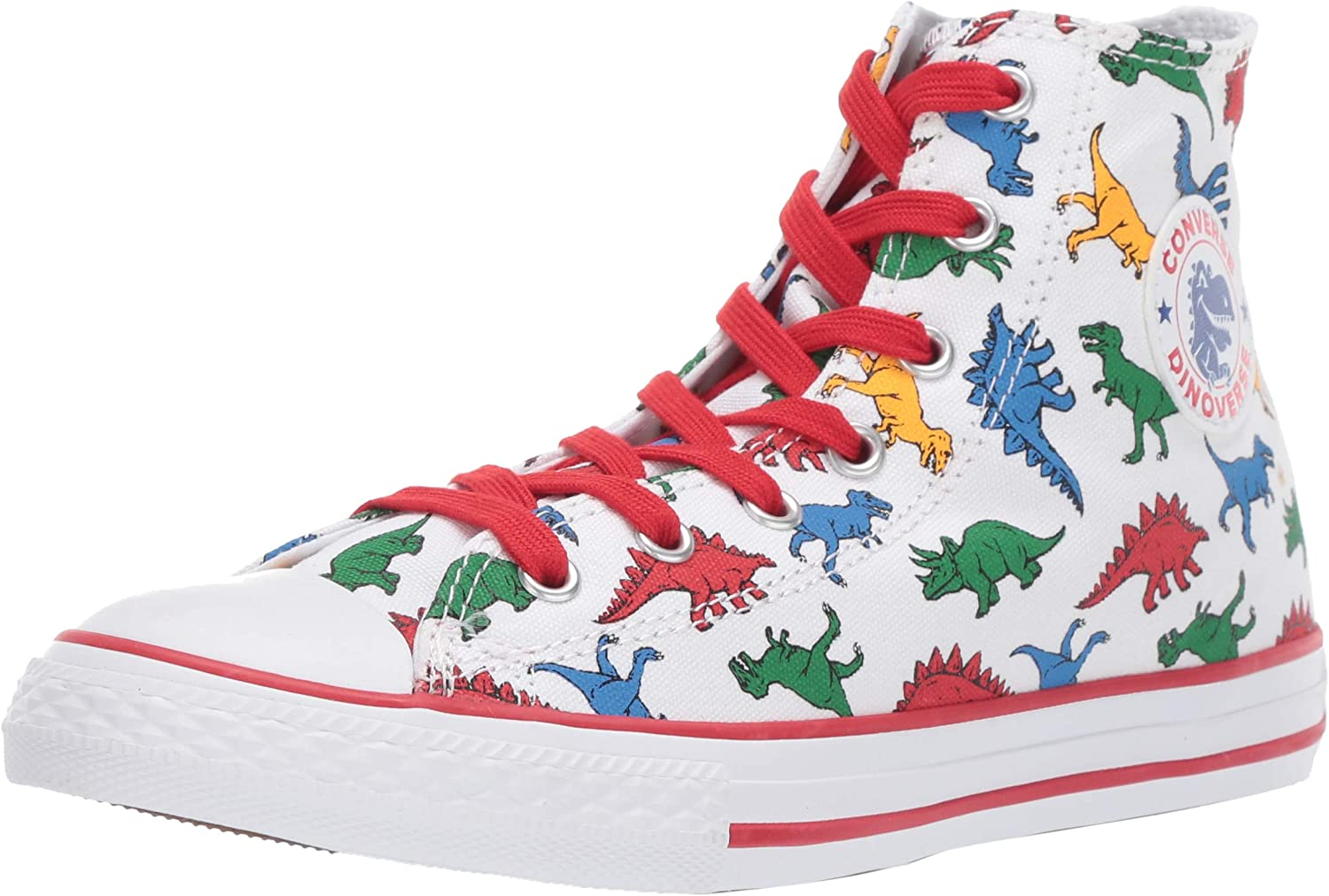 Converse , Baskets pour garçon Weiss/Multicolor: Amazon.fr ...