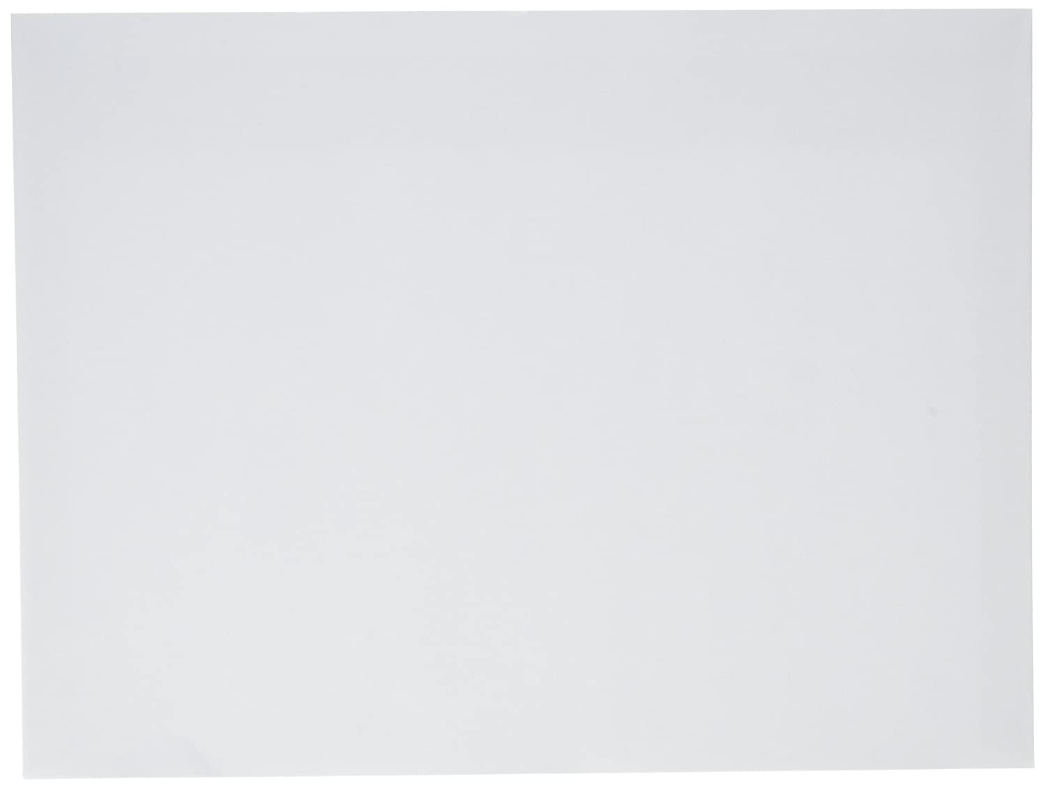 9x12 Envelopes (Bright White) - Open Side 9x12 Booklet Envelopes - Pack of 55 White Envelopes 9x12 28lb Paper - Check O Matic Business Envelopes COM367