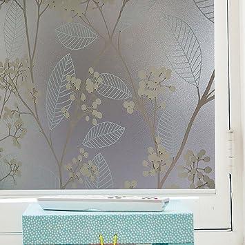 Fenster Filme blickdicht Dekorative Fensterfolie, Milchglas ...