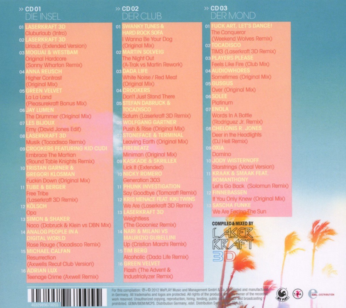 Cluburlaub : Laserkraft 3d: Amazon.es: Música