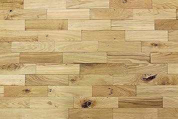 Wodewa Wandverkleidung Holz 3d Optik I Eiche Rustikal I 1m