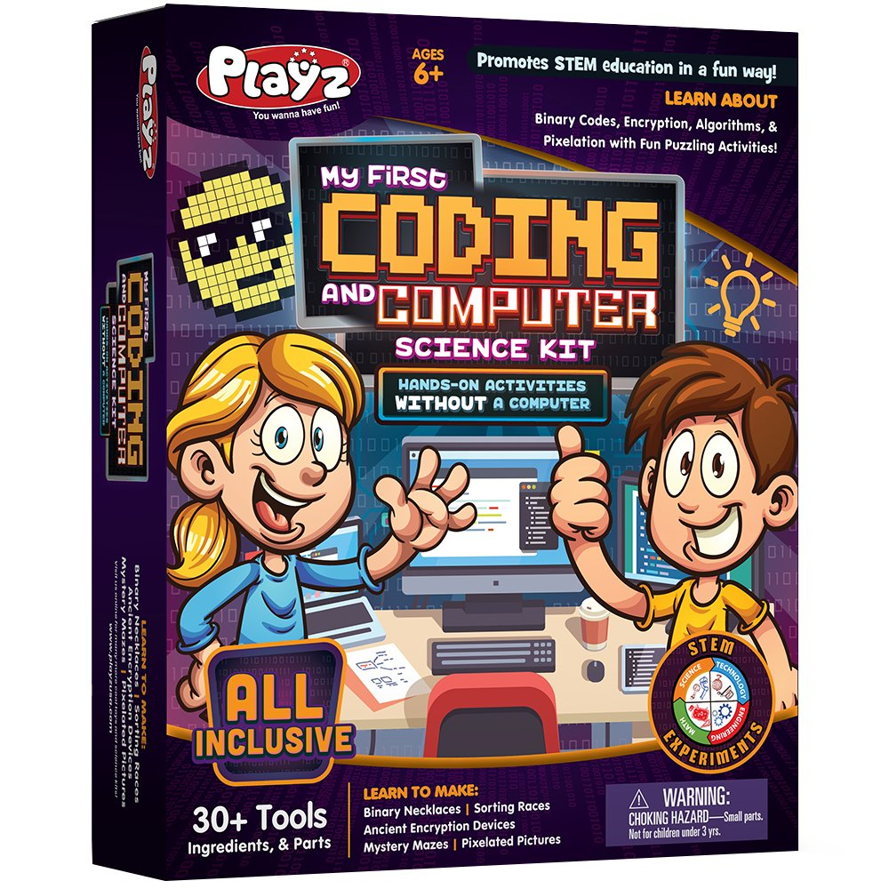 Playz My First Coding & Computer Science Kit