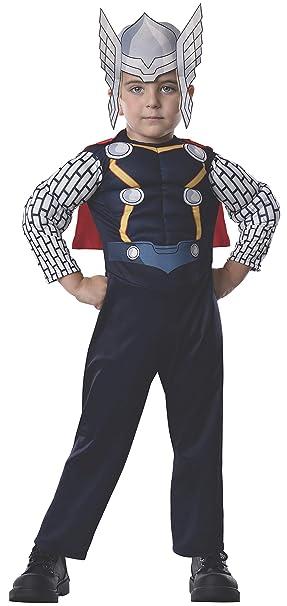 Avengers - Disfraz de Thor Deluxe para niños, infantil talla ...