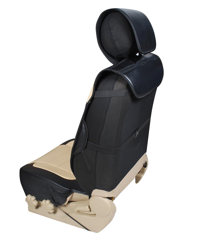180205s Black Tan 2 Front Car Seat Cover Cushions Hyundai 3 5l Engine Parts Breakdown Leather Like Vinyl Compatible To Elantra Equus Genesis Ix35 Santa Fe Sonata Tucson