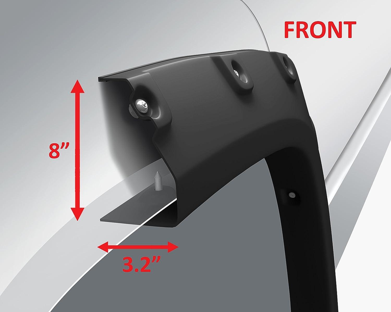 Offroader Rivet Style Fender Flares 2007-201313 GMC Sierra 1500 6.5ft Bed