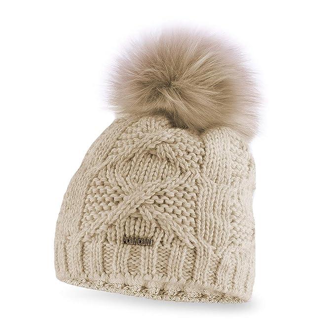 9d950f191d2 PaMaMi® Women s Pom Pom Beanie Hat