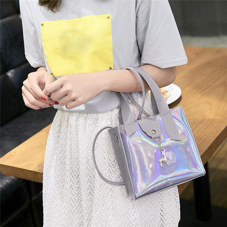 WomenS Fashion Deer Accessories Totes Shoulder Color Crossbody Bag Solid Bucket