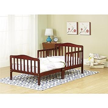 Orbelle 3 6T Toddler Bed Dark Cherry