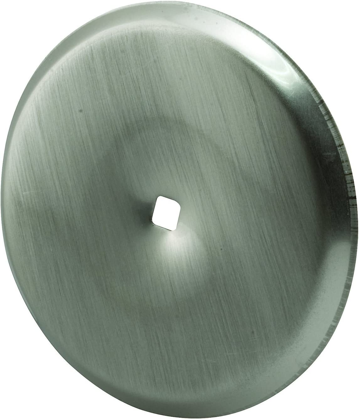 Prime-Line Products MP10420 Cabinet Knob Backplate, 2-13/16 in. Outside Diameter, Stamped Steel, Satin Nickel, 5 Piece