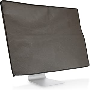 """kwmobile Monitor Cover Compatible with Apple iMac 21.5"""" - Anti-Dust PC Monitor Screen Display Protector - Dark Grey"""