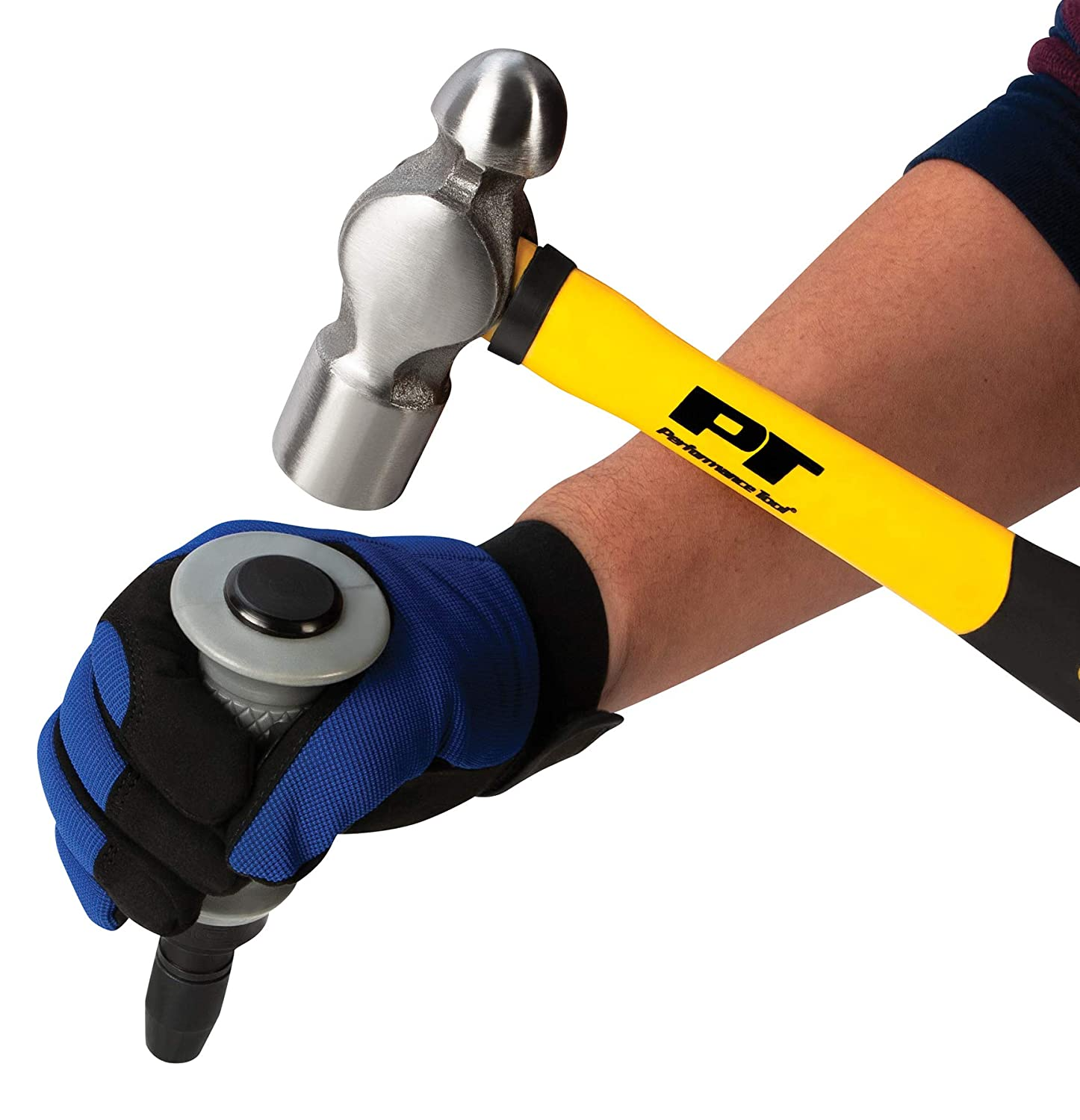 Performance Tool W2500P 3//8 in Drive Impact Driver with 4 Tips