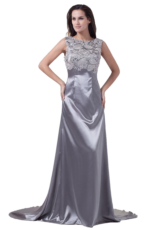 satin kleid lang dresstells glamour s damen kleid lang. Black Bedroom Furniture Sets. Home Design Ideas