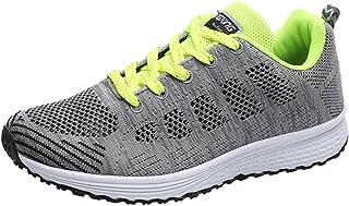 AIMEE7_Chaussure Chaussures Hommes de Running Homme Femme Respirantes Chaussures de Course Baskets Unisexe Mode Sneakers à Laçage Fitness Gym Chaussure Sport