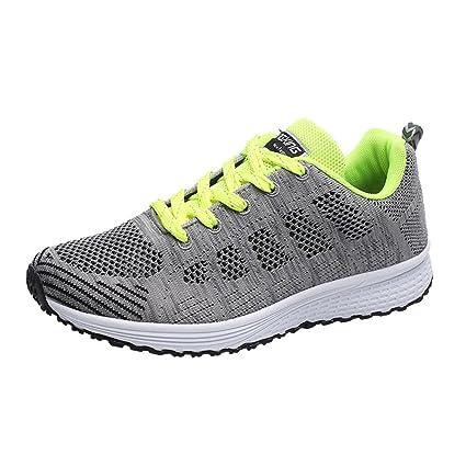 d9686d54c1cb Amazon.com: Hunzed Men【Flat Running Shoes】Clearance Men's Trail ...