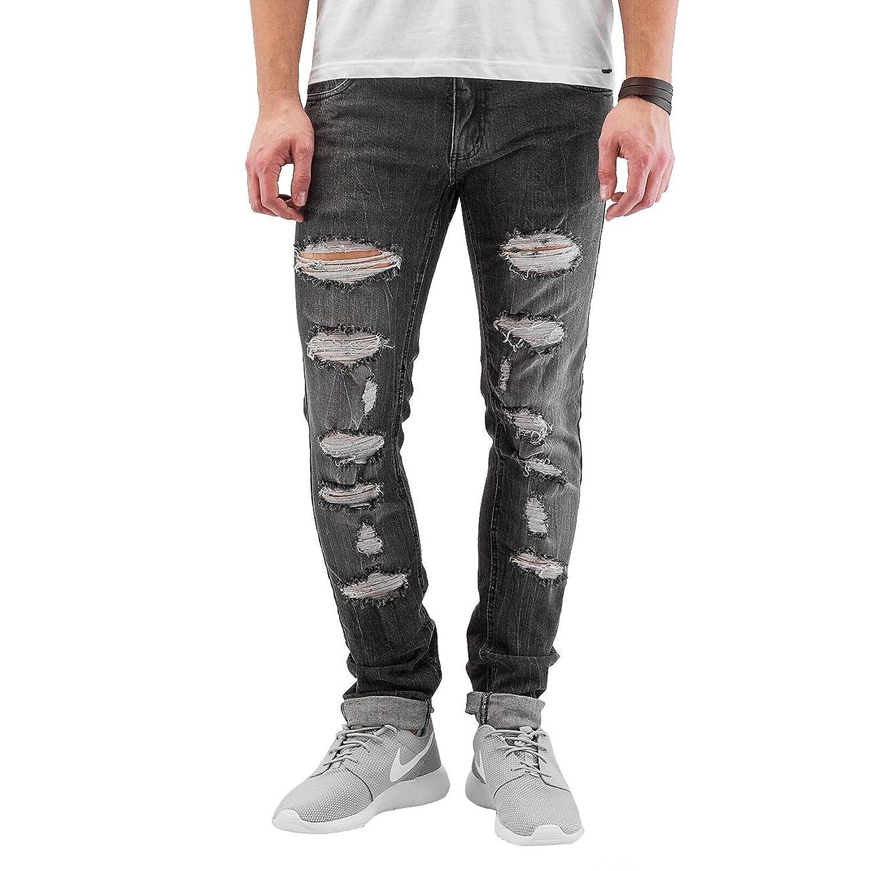 SHINE Original Herren Jeanshose Slim Fit Jeans, Grunge Grey