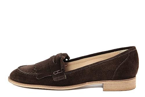 Arnaldo Toscani Mocasines de Piel Lisa Para Mujer Marrón Marrón, Color Marrón, Talla 38: Amazon.es: Zapatos y complementos