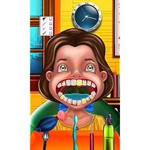 Dentista loco Divertido juego : Tratar a los pacientes en una clínica de un dentista loco! juego divertido para los niños: Amazon.es: Appstore para Android