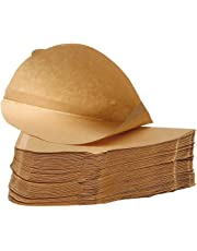 Pack of 100 - Unbleached Coffee Papers - Size Four (4)