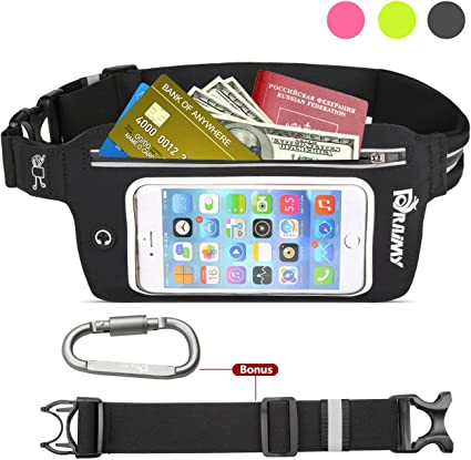 Dark Blue Stylish Traveling Running Waist Carrying Bag For iPhone 7//Samsung S5
