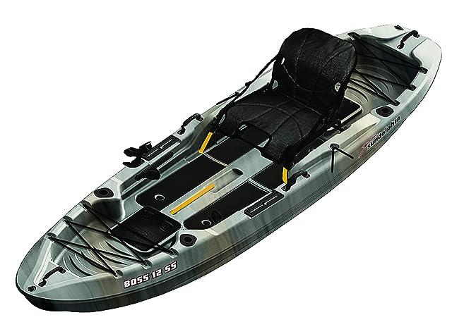 SUNDOLPHIN Sun Dolphin Boss SS Sit-On-Top Angler Kayak