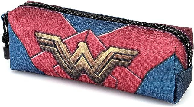 Wonder Woman Emblem-Estuche Portatodo Cuadrado HS: Amazon.es: Equipaje