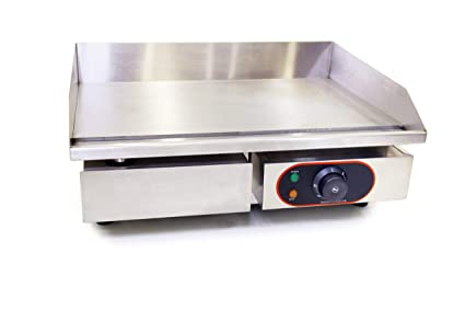 Countertop Electric Induction Griddle For Restaurant Kitchen