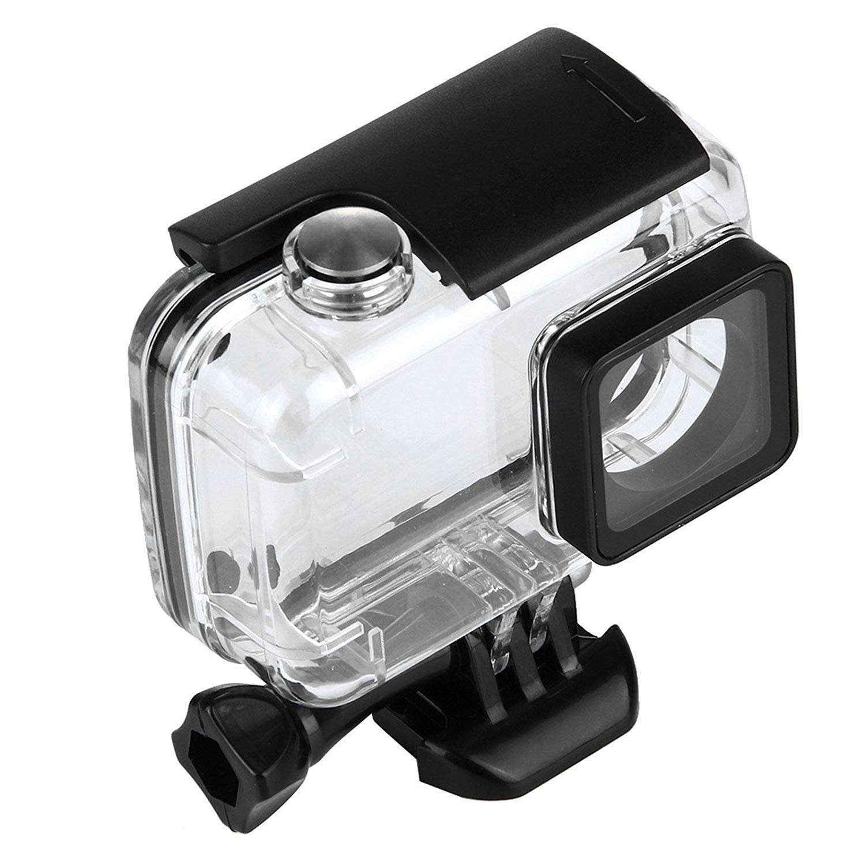 SHOOT 30m Portable plongée Caisson étanche Boîtier Coque Case Cover Logement pour Xiaomi Xiaoyi YI 2 4K/ YI 4K+ caméra Accessories