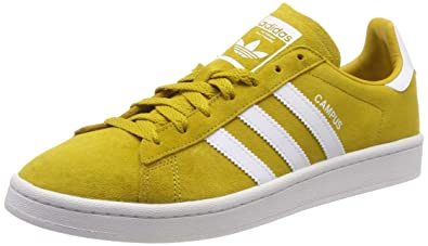 de14f24c92494 adidas Campus CM8444 Mens Shoes Yellow