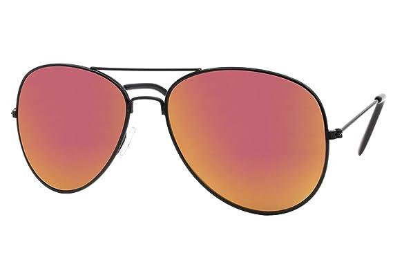 Lunettes de soleil Cheapass Aviateur Pilote Monture Dorée Verres Noires Protection UV400 xQmrXb5FAw