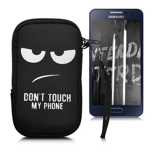 """87 opinioni per kwmobile custodia porta cellulare in neoprene per smartphones M- 5,5""""- porta"""