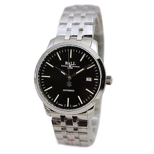 Amazon.com: Bola Legend acero inoxidable negro reloj de ...