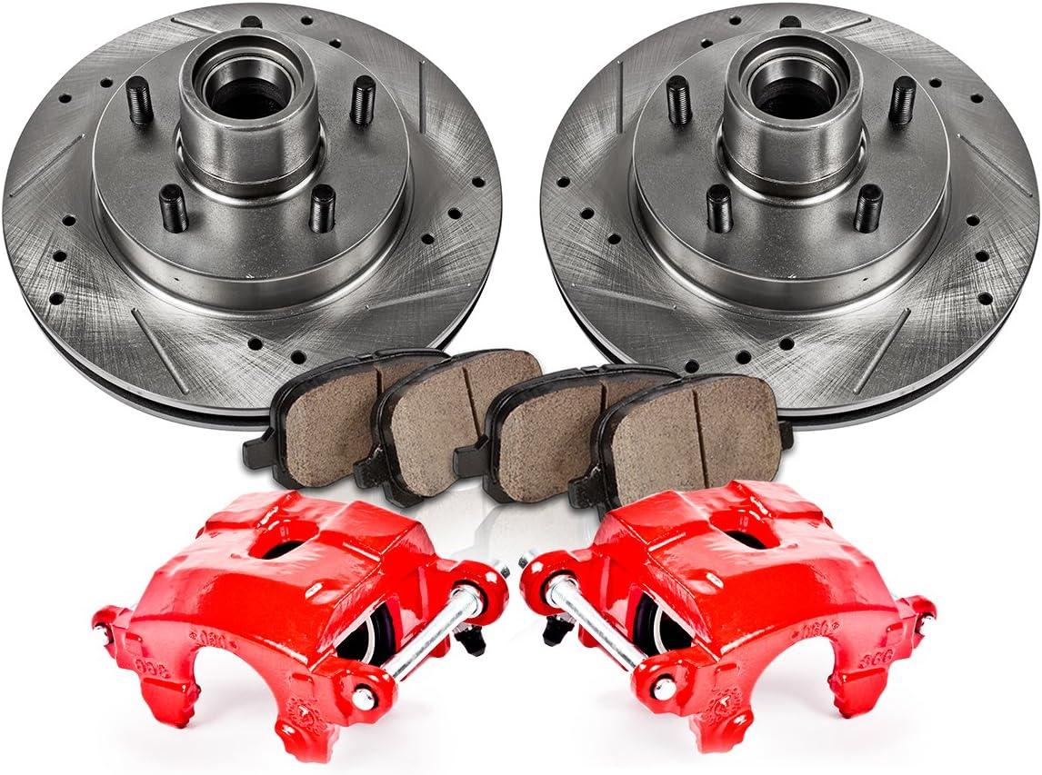 Front Brake Calipers Rotors /& Pads For S10 BLAZER PICKUP MIDSIZE JIMMY SONOMA