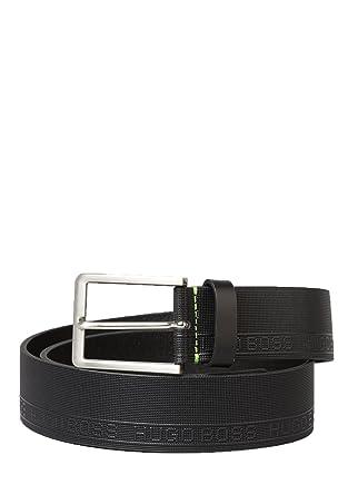 Hugo Boss ceinture - Hommes Tony SZ40 Ceinture Cuir Noir - Noir, Small e420e2724e9