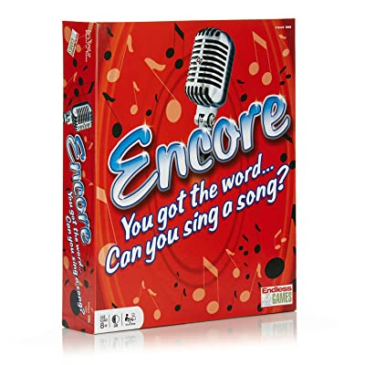Endless Games Encore Board Game - Sing Songs to Win: Toys & Games
