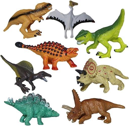 12 PCS Popular Plastic Dinosaur Model Set Simulation Mini Toys for Children HOT
