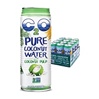 C2O Pure Coconut Water with Pulp | Plant Based | Non-GMO | No Added Sugar | Essential...