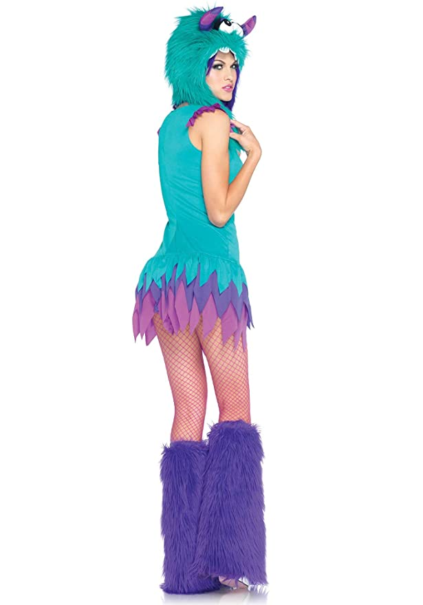 sc 1 st  Amazon.com & Amazon.com: Leg Avenue Fuzzy Frankie Adult Costume-: Clothing