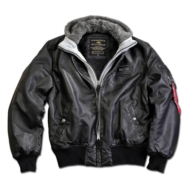 Alpha Men's Jacket Black Black