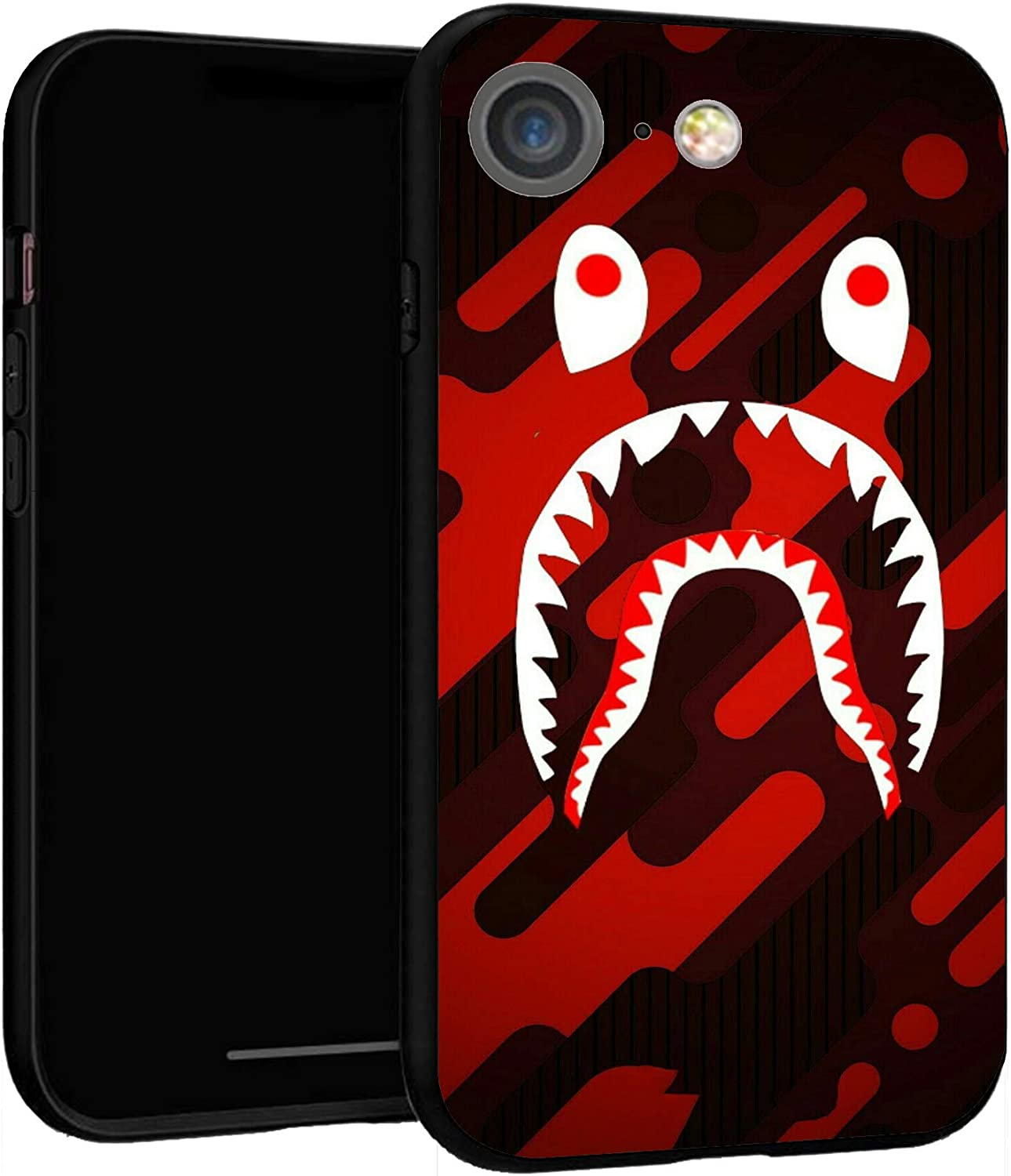 "iPhone 7 Case 8 Case 4.7"",Case Cover for iPhone 7/8 (Bape-Shark-2)"