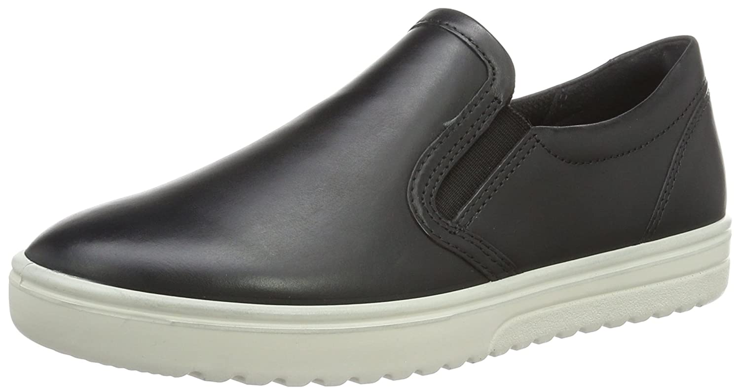 ECCO Women's Women's Fara Slip-on Loafer, Black, 38 EU/7-7.5 M US