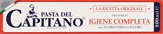 12 opinioni per Pasta del Capitano- Dentifricio Igiene Completa, con Antibatterico e Fluoro- 100
