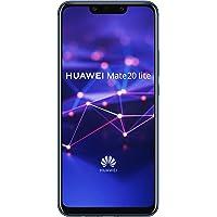 Huawei Mate 20 Lite Smartphone débloqué 4G (Ecran : 6,3 pouces - 64 Go - Double Nano-SIM - Android) Bleu
