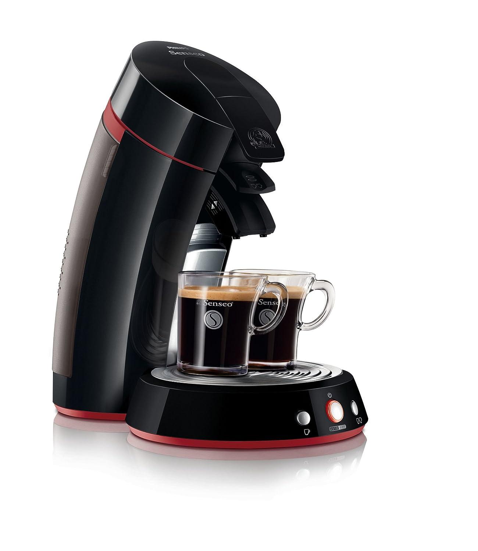 Senseo HD7823/90 Máquina de café en cápsulas 1.2L 8tazas Negro - Cafetera (Máquina de café en cápsulas, 1,2 L, Negro): Amazon.es: Hogar